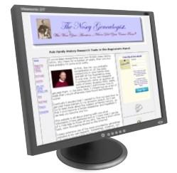 The NoseyGenealogist.com website