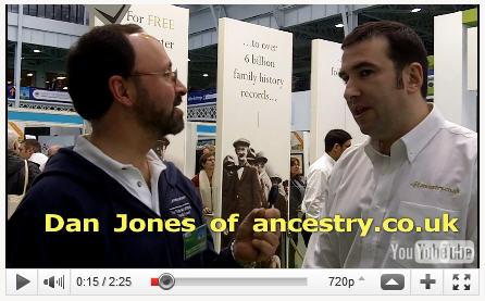 Dan Jones of ancestry.co.uk