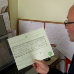 Copy wedding certificate arrives in post