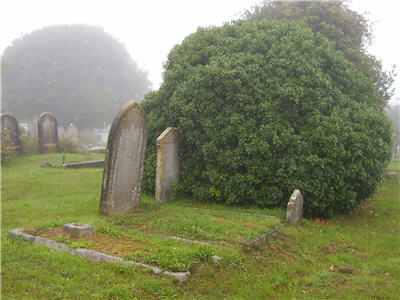 Thorne graves in Dartmouth, Devon