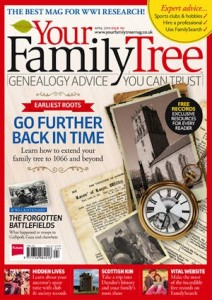 Your Family Tree Magazine issue141 Cover