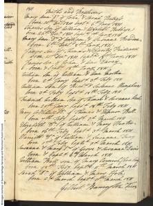 Charles Babbage - Baptism