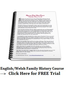 Family History Researcher Course