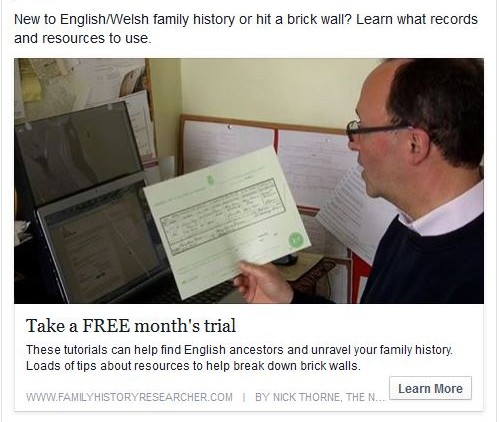 Family History Researcher Course Free Trial