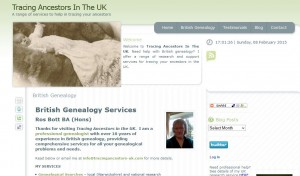 tracing ancestors in the uk