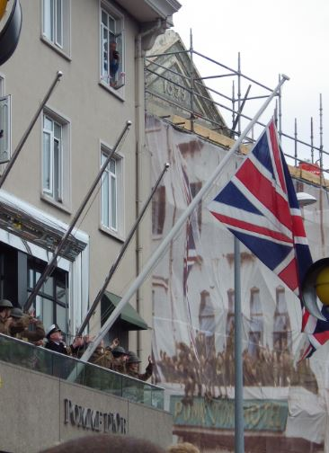 Raising of the Union Flag Liberation Day 2015
