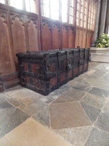 Parish Chest in Salisbury Cathedral