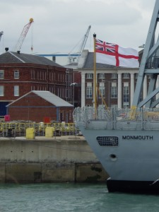 Portsmouth Royal Navy dockyard