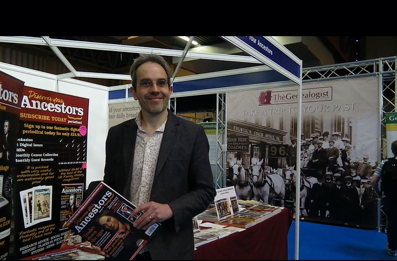 Andrew Chapman, Editor of Discover Your Ancestor's Magazine