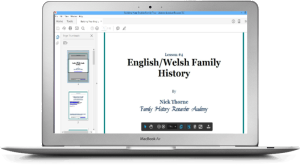 The English/Welsh Family History course has had tremendous feedback