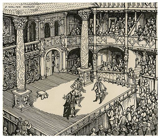 Imaginary_view_of_an_Elizabethan_stage