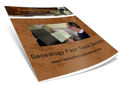 Genealogy Fast Track Secrets 40px