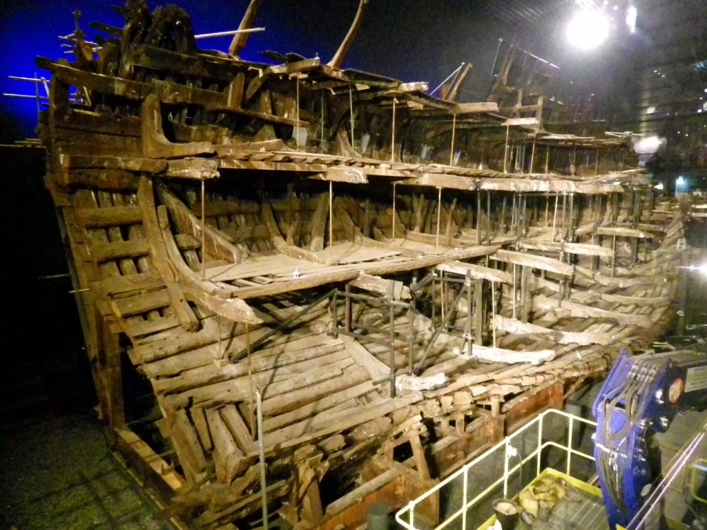 The Mary Rose in 2016