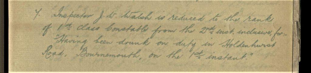Police Letter Books on TheGenealogist