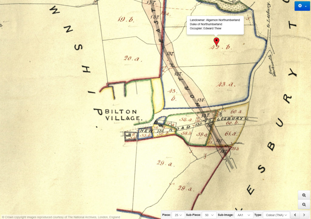 Northumberland Tithe Map