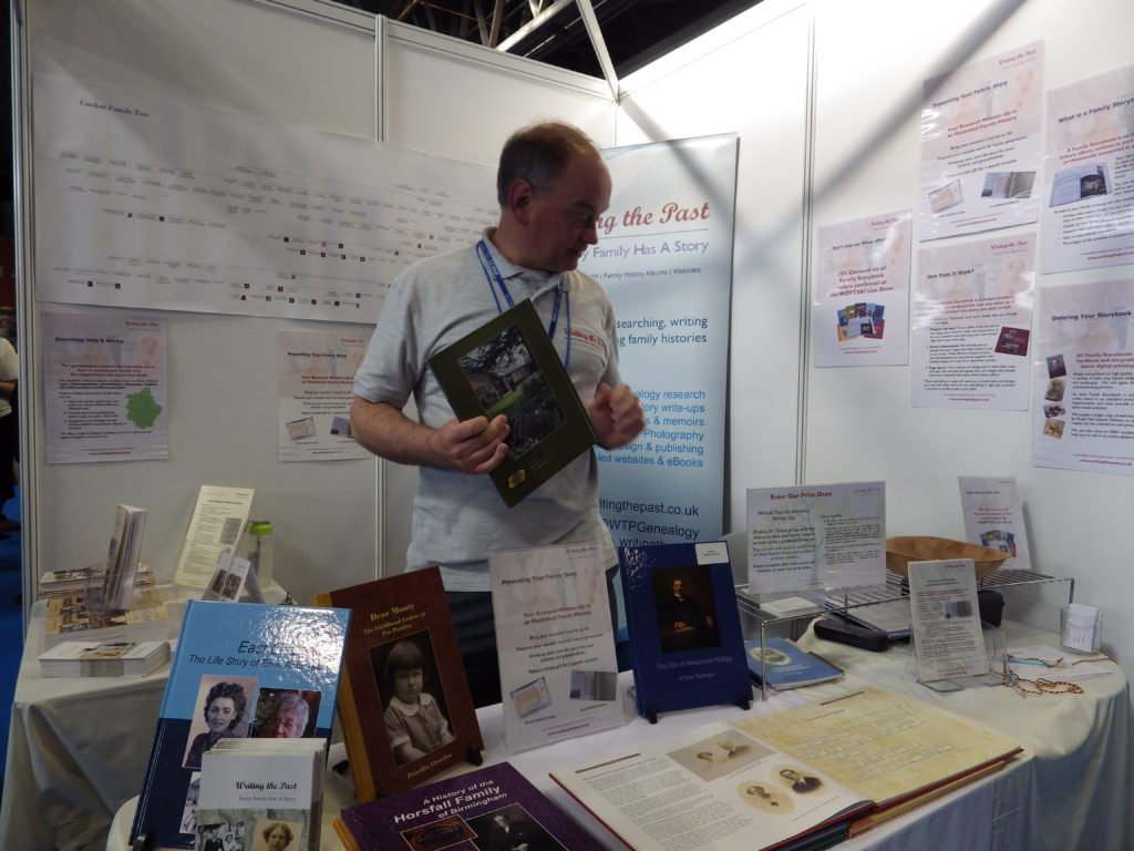Writing the Past stand at WDYTYA? LIVE 2017