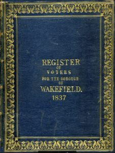 Register of Voters for the Borough of Wakefield 1837 on TheGenealogist