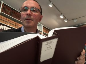 Nick Thorne 'The Nosey Genealogist' researching for FamilyHistoryResearcher.com