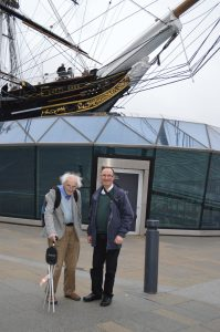 Visit to the Cutty Sark - Copyright A. Derbyshire 2018