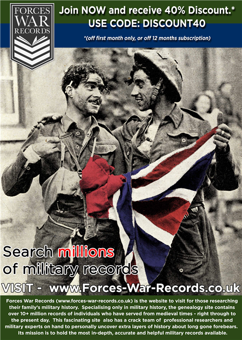 Forces War Records deal