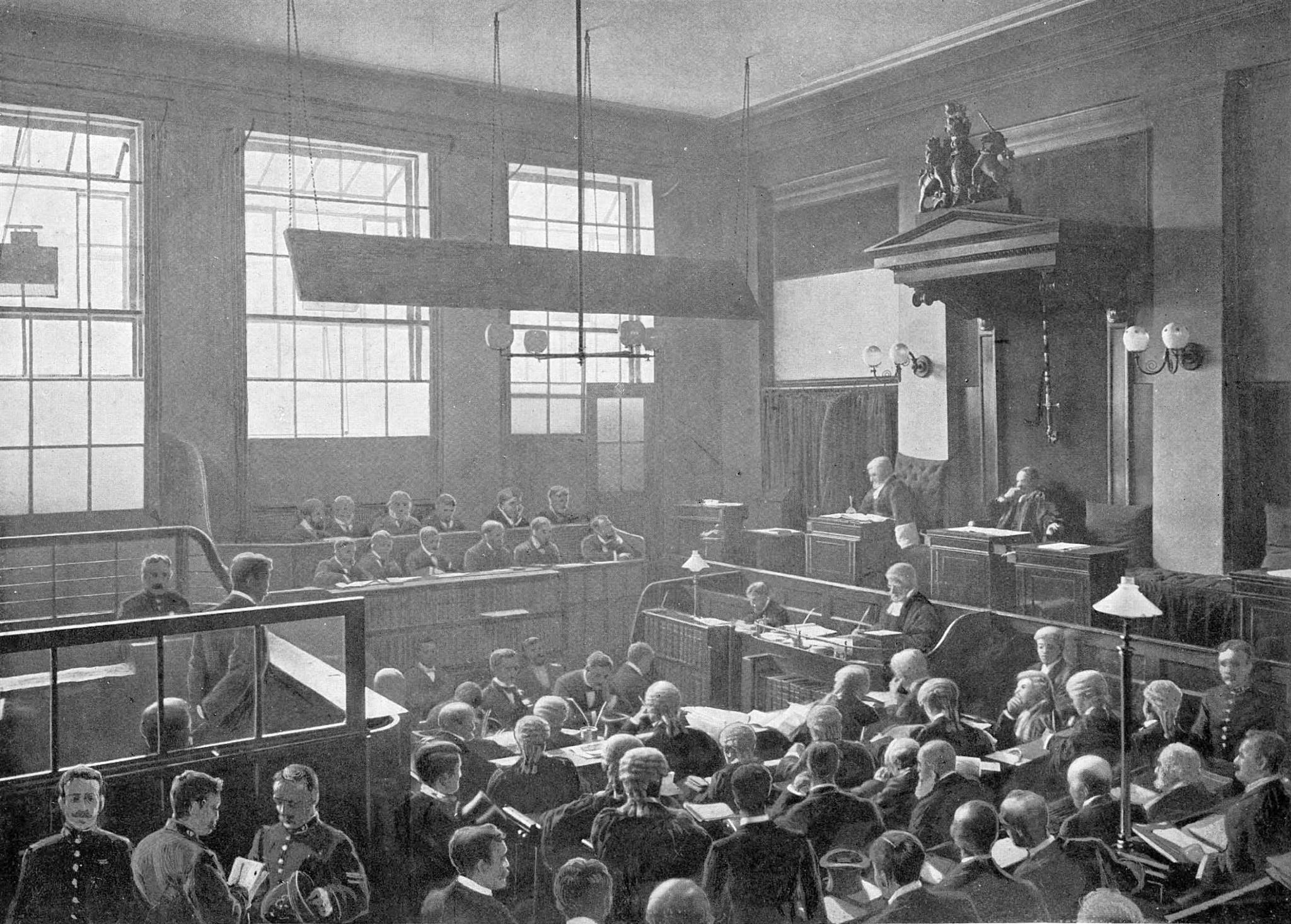 Central Criminal Court - TheGenealogist Image Archive