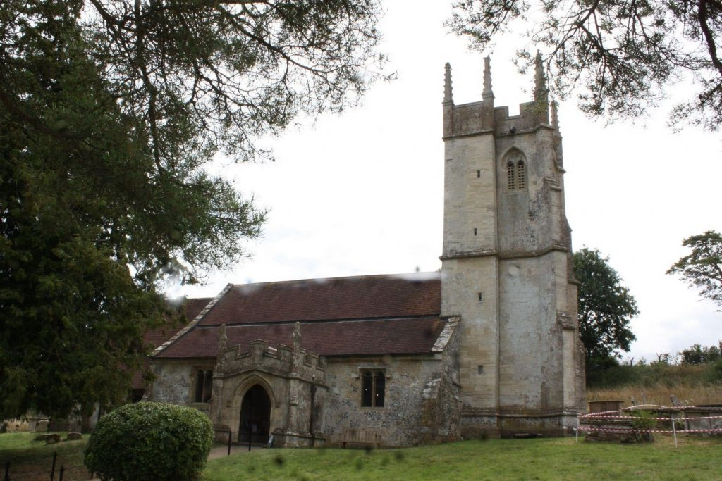 St Giles church at Imber