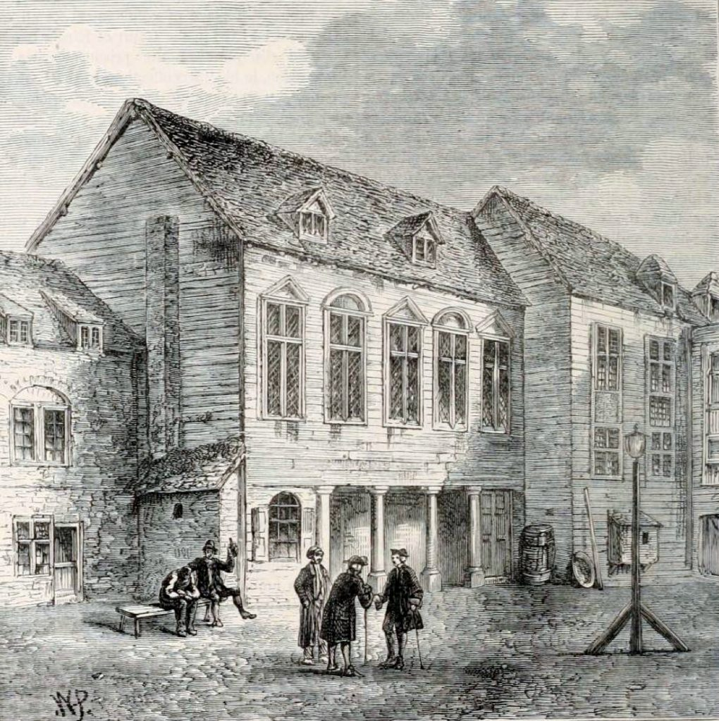 Marshalsea Prison as featured in new record at TheGenealogist