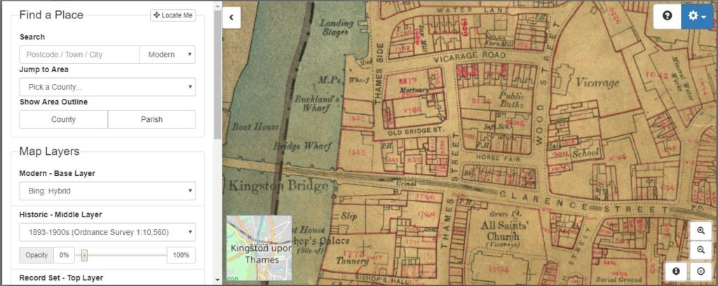 Lloyd George Domesday Survey of Kingston upon Thames