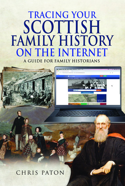 Tracing Your Scottish Family History on the Internet - Book cover