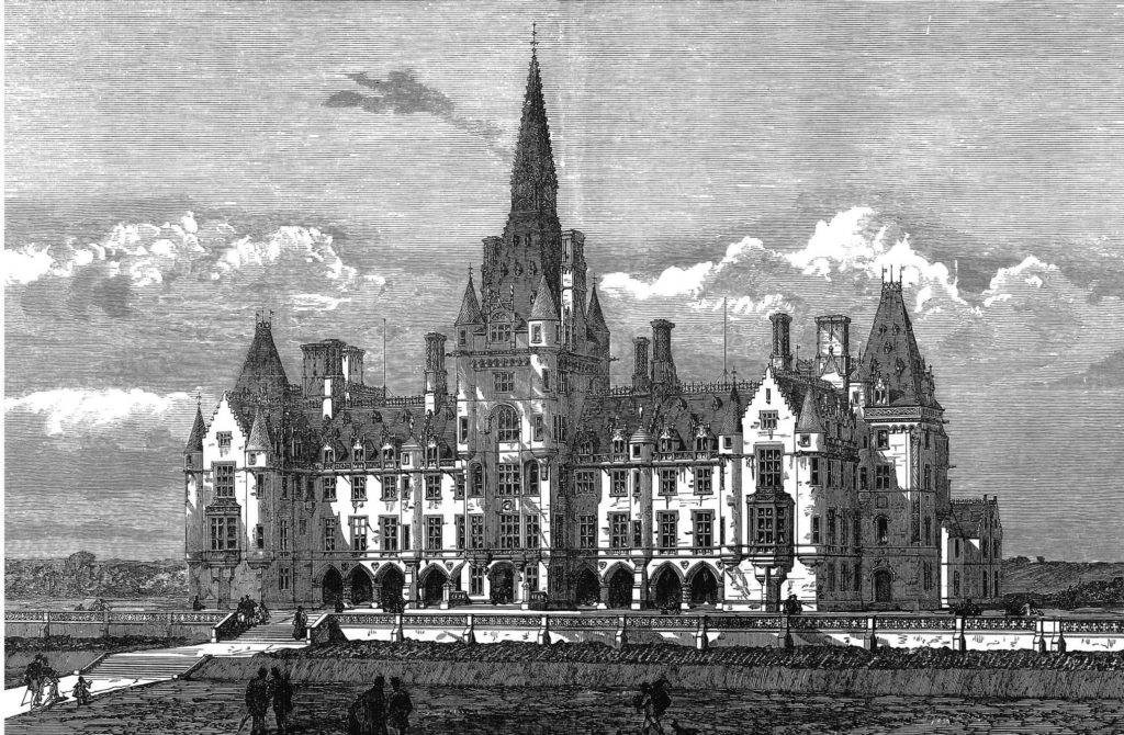 Fettes College, Edinburgh from The Illustrated London News