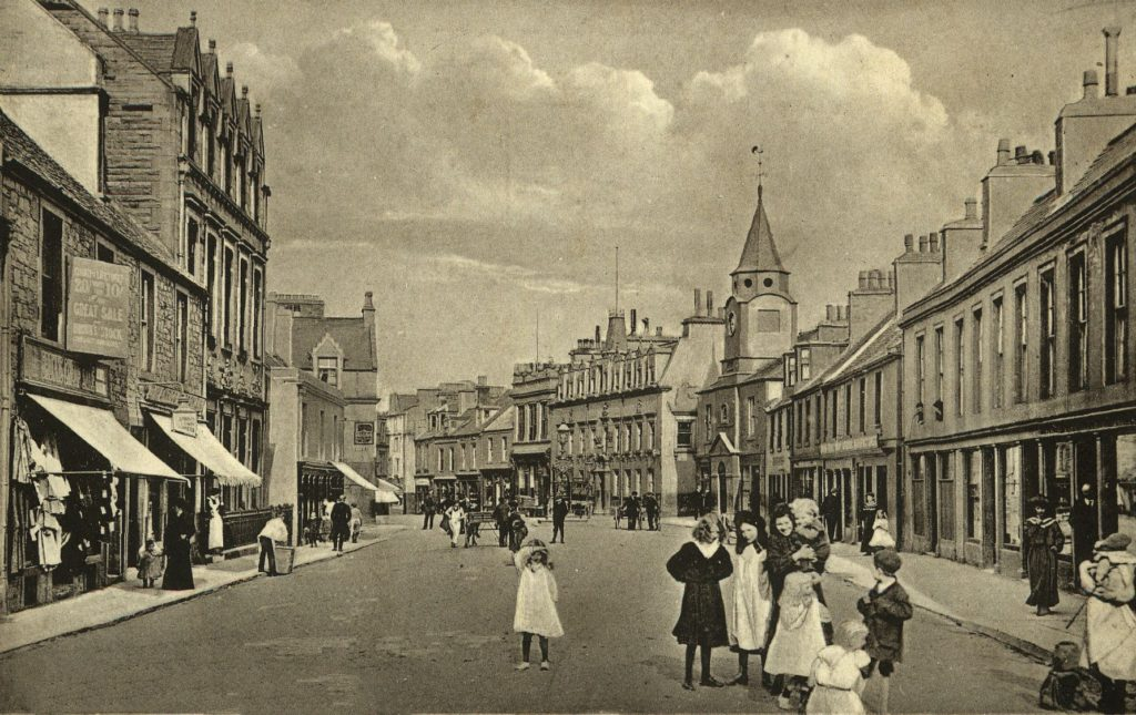 George Street, Stranraer from TheGenealogist's Image Archive
