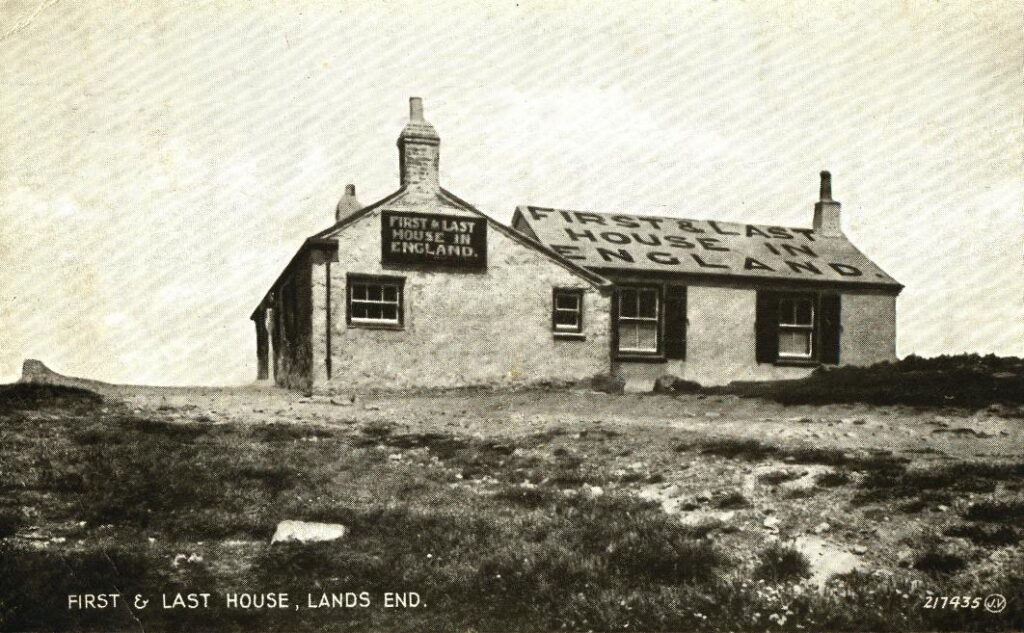 First & Last House, Land's End from TheGenealogist's Image Archive