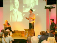 Peter and Dan Snow at WDYTYA? Live