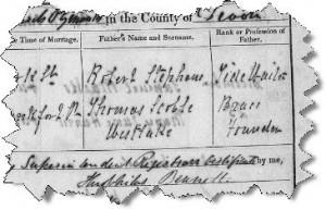 Tide Waiter Ancestor at www.NoseyGenealogist.com